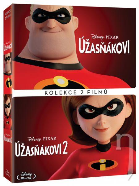 DVD Film - Úžasňákovi kolekce 1.+2. 2DVD