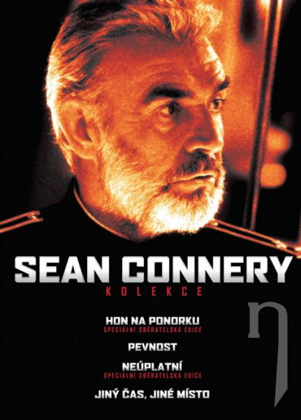 DVD Film - Kolekcia: Sean Connery (4 DVD)