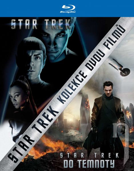 BLU-RAY Film - Kolekcia: Star Trek (2 Bluray)