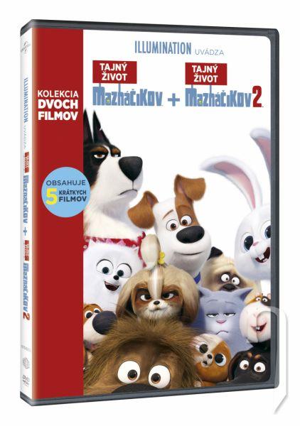 DVD Film - Tajný život mazlíčků 2