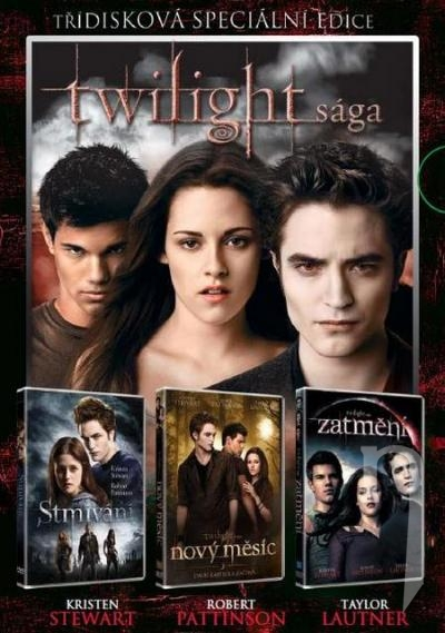 DVD Film - Kolekcia: Twilight (3 DVD)