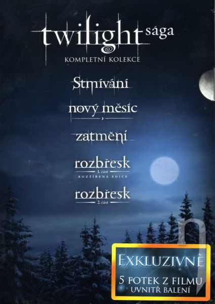 DVD Film - Kolekcia: Twilight (5 DVD)