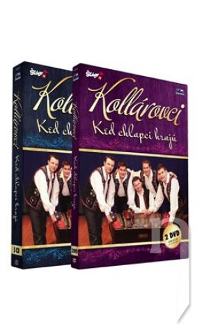 DVD Film - KOLLÁROVCI od A do Z - komplet (5cd+2dvd)