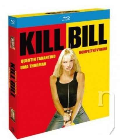 BLU-RAY Film - Kompletná kolekcia: Kill Bill + Kill Bill 2 (Blu-ray)