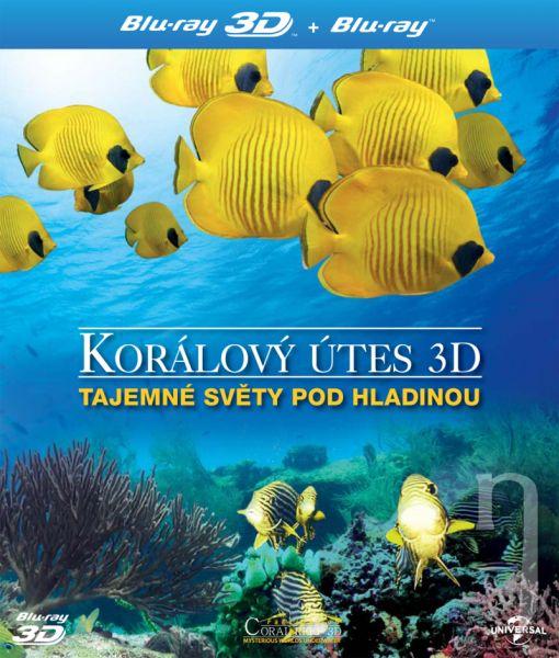 BLU-RAY Film - Korálový útes - Tajemné světy pod hladinou 3D/2D