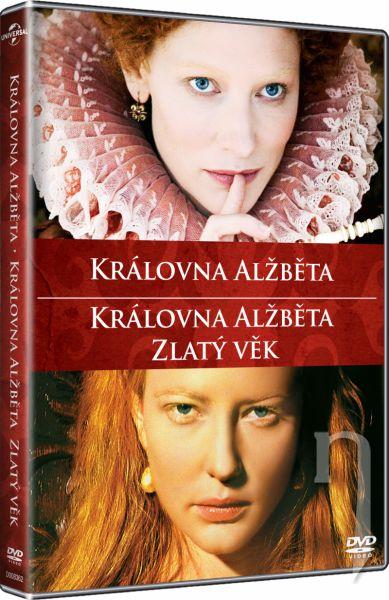DVD Film - Královna Alžběta / Královna Alžběta: Zlatý věk (kolekce, 2 DVD)