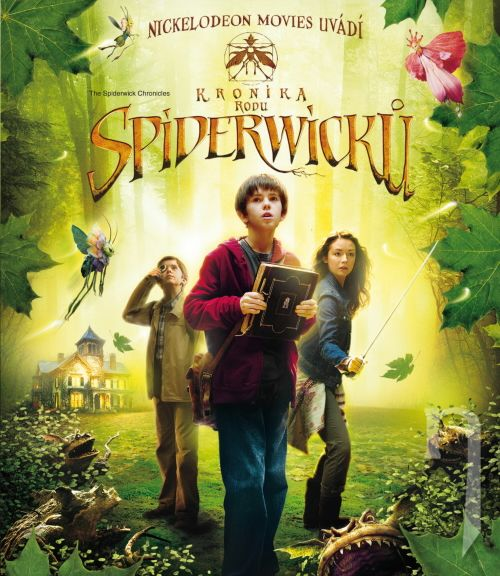 BLU-RAY Film - Kronika rodu Spiderwickov (Blu-ray)