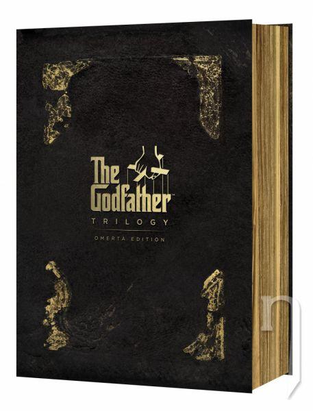 DVD Film - Kmotr kolekce - edice Omerta (4DVD)