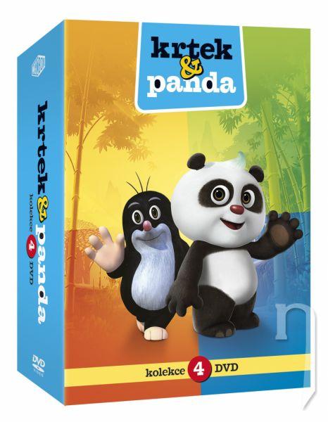 DVD Film - Krtek a Panda 1-4 4DVD