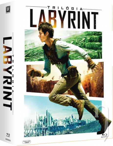 BLU-RAY Film - Labyrint: Trilógia (3 Bluray)