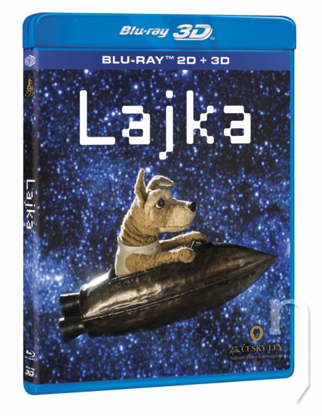 BLU-RAY Film - Lajka 3D+2D