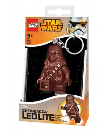 LED kľúčenka Chewbacca - LEGO Star Wars (7,5 cm)