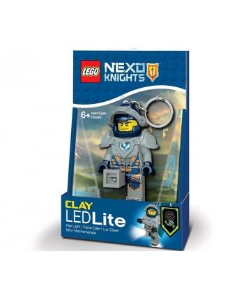 LED kľúčenka Clay - LEGO Nexo Knight (7,5 cm)