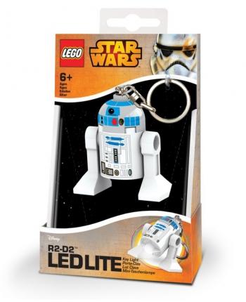 LED kľúčenka R2-D2 - LEGO Star Wars (7,5 cm)