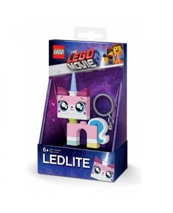 LEGO Movie 2 - LED kľúčenka jednorožec - 7,5 cm