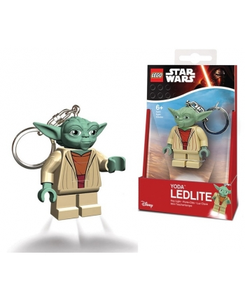 LEGO Star Wars Yoda - LED kľúčenka (7,5 cm)