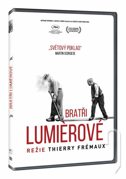 DVD Film - Bratři Lumiérové