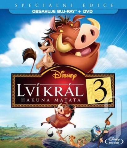 Lví král 3: Hakuna Matata (Blu-ray+DVD - Combo Pack) (BLU-RAY)