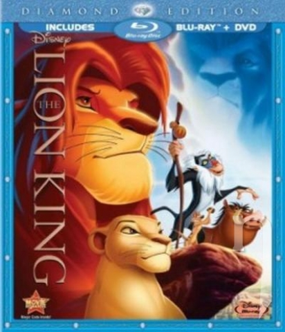 BLU-RAY Film - Lví král SK/CZ dabing  (BD+DVD Combo Pack)