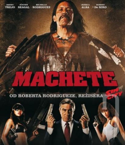 BLU-RAY Film - Machete (Bluray)