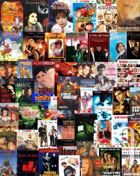 DVD Film - Sada 100 ks náhodne vybraných DVD