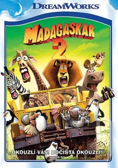 DVD Film - Madagaskar 2: Útěk do Afriky