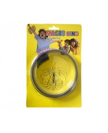 Magické kruhy - žltá kartička (13 cm)