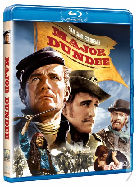 BLU-RAY Film - Major Dundee
