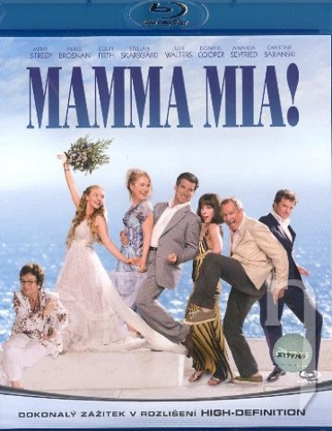 BLU-RAY Film - Mamma Mia! (Blu-ray)