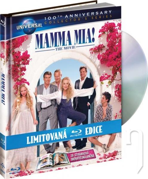 BLU-RAY Film - Mamma Mia! (Blu-ray - digibook)