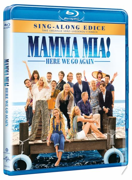 BLU-RAY Film - Mamma Mia! Here We Go Again