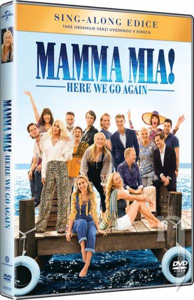 DVD Film - Mamma Mia! Here We Go Again