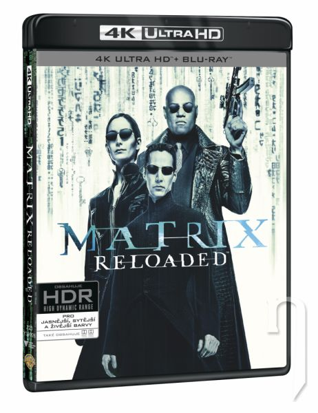 BLU-RAY Film - Matrix Reloaded (UHD+BD+bonus disk)