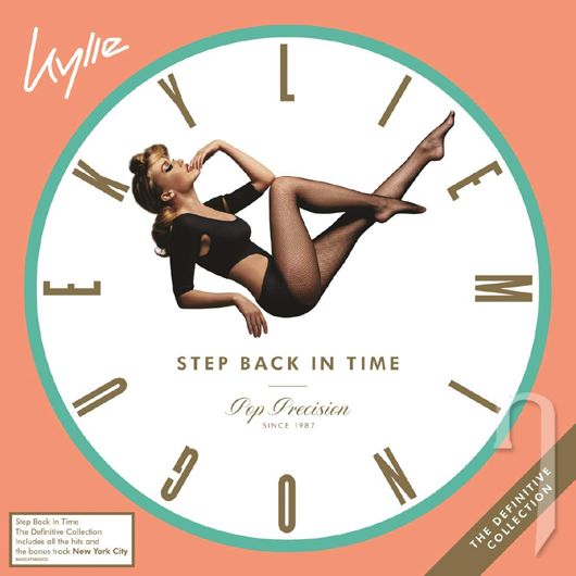 LP - MINOGUE KYLIE - STEP BACK IN TIME: DEFINITIVE COLLECTION (2LP) (COLOURED VINYL - MINT GREEN)