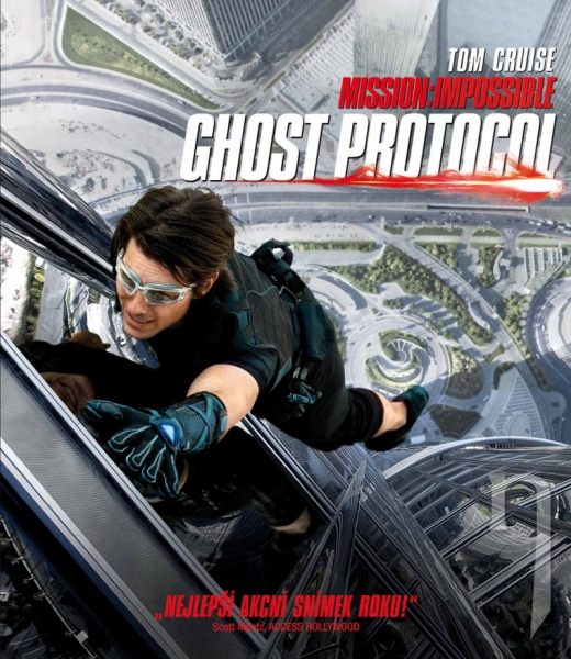 BLU-RAY Film - Mission Impossible - Ghost Protocol