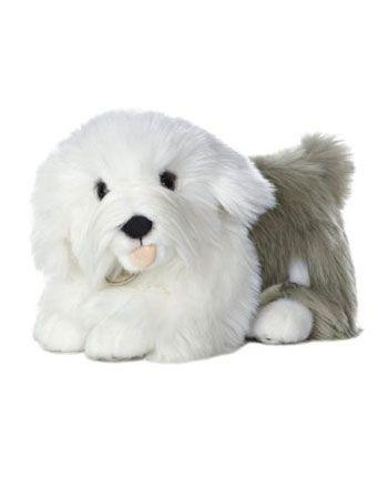 Plyšový staroanglický ovčiarsky pes - Miyoni (25,5 cm)