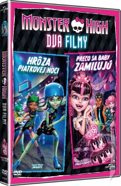 DVD Film - Monster High: Hrôza piatkovej noci + Prečo sa baby zamilujú