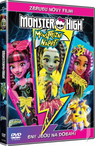 DVD Film - Monster High: Monstrózní napětí