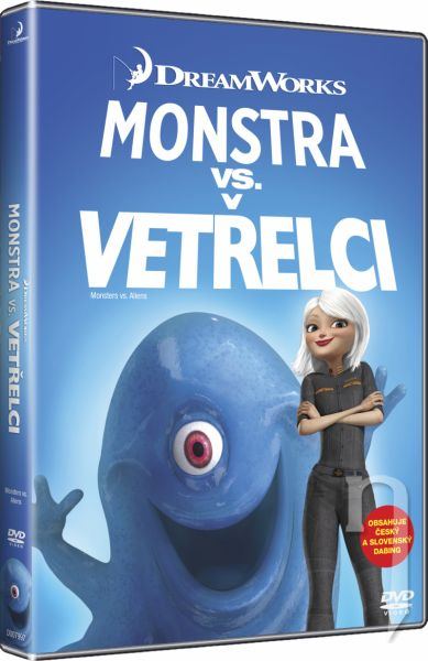 DVD Film - Monštrá vs. Votrelci - BIG FACE