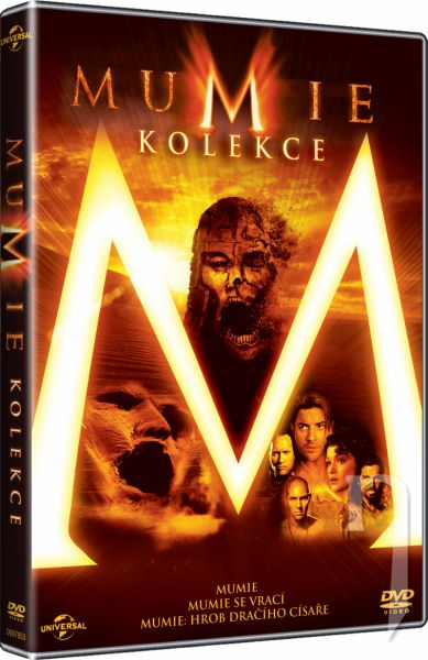 DVD Film - 3DVD Mumie kolekce