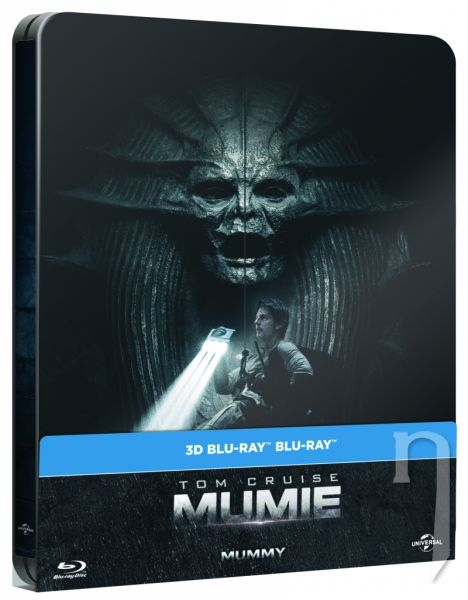 BLU-RAY Film - Múmia - Steelbook