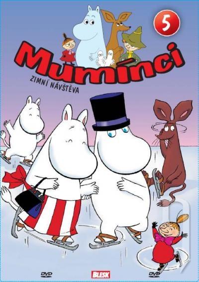 Mumínci 5 (papierový obal) (DVD)
