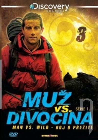 Muž vs divočina 3 (papierový obal) (DVD)