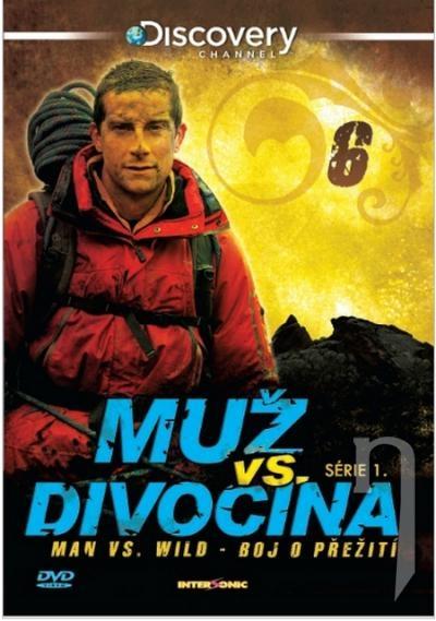 Muž vs divočina (6DVD) (DVD)