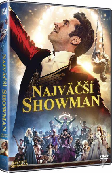 DVD Film - Největší showman