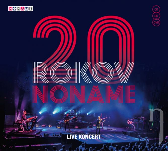 CD - NO NAME - 20 rokov / Live koncert (2CD+DVD)