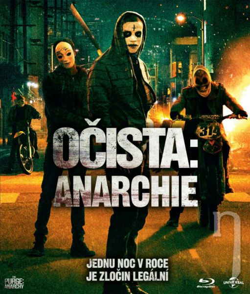 BLU-RAY Film - Očista: Anarchia
