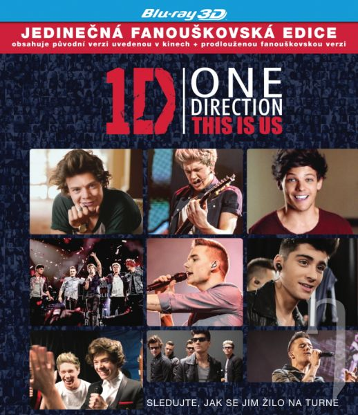 BLU-RAY Film - One Direction: This Is Us 3D