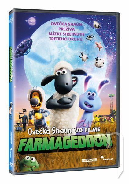 DVD Film - Ovečka Shaun ve filmu: Farmageddon