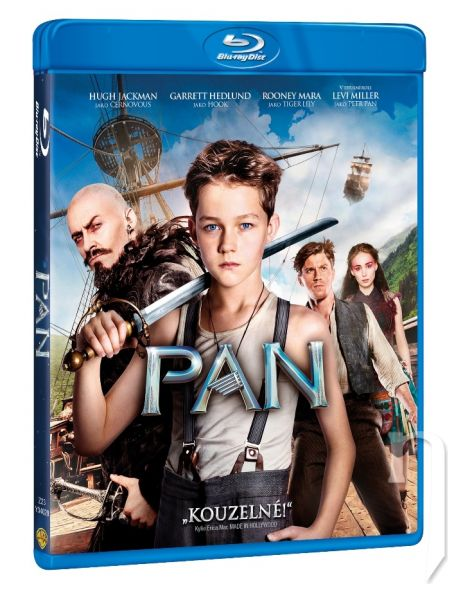 BLU-RAY Film - PAN: Cesta do Krajiny-Nekrajiny